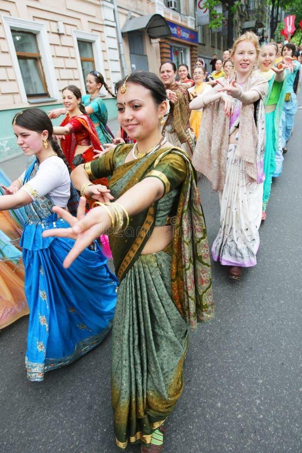 Palpeurs de Krishna de lièvres images libres de droits