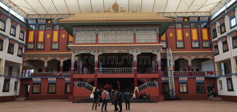 PALPUNG SHERABLING修道院 库存图片