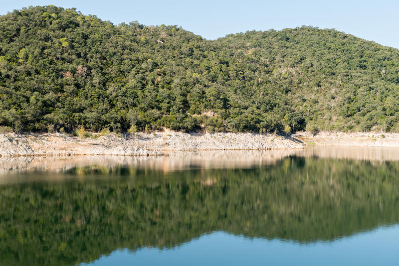 Palude DARNIUS-BOADELLA (Girona) fotografia stock