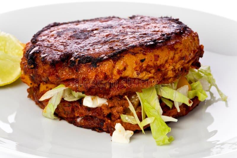 Pambazo Sandwich stock photo