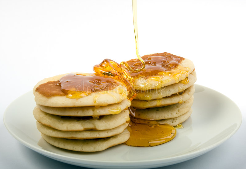 Download Pamcakes and syrup stock image. Image of honey, carb, health - 3319893