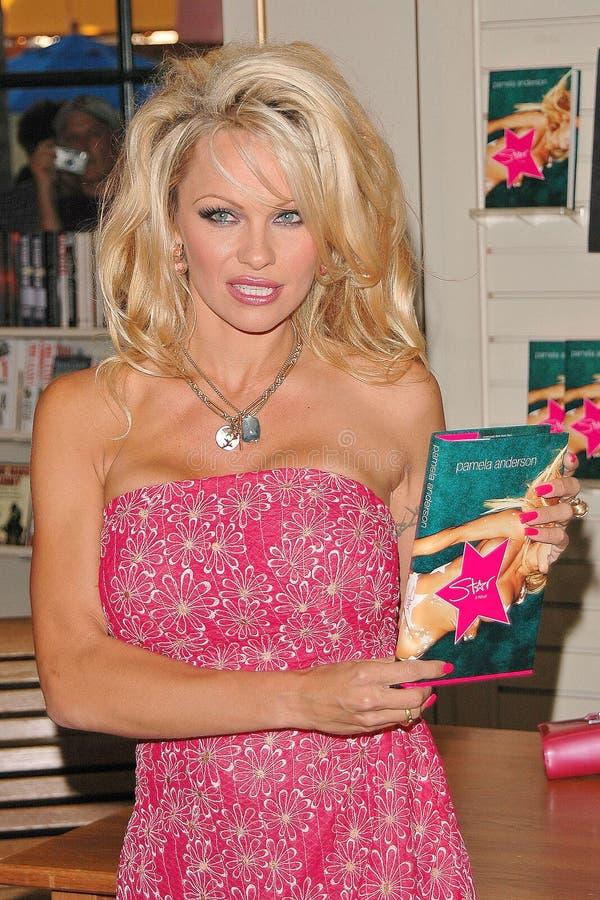 Pamela Anderson fotografia stock