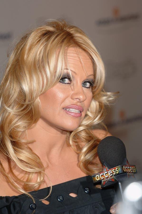 Pamela Anderson fotografie stock