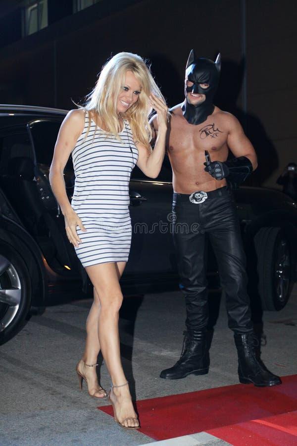 Pamela Anderson royaltyfria foton