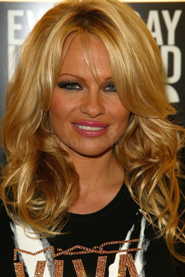 Pamela Anderson royaltyfria bilder