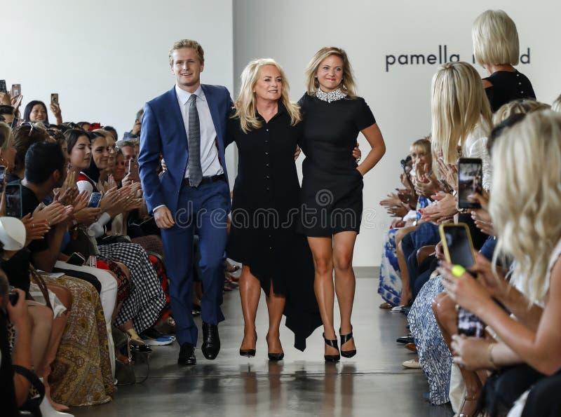 Pamella罗兰特SS 2019年 库存图片