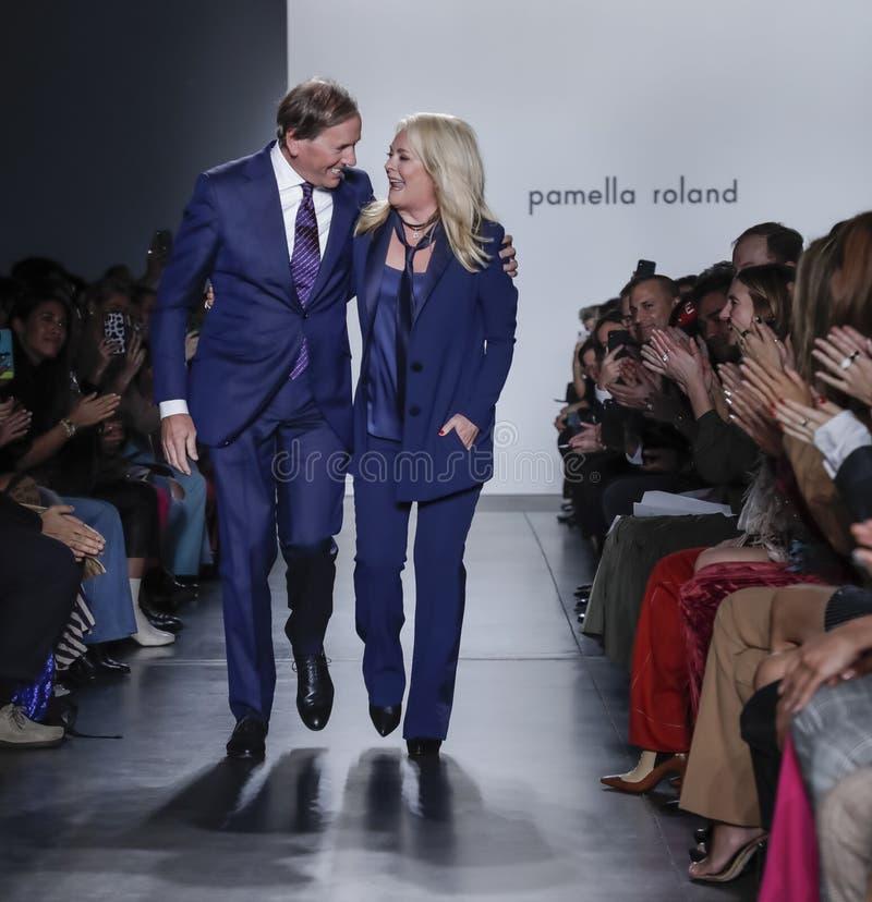 Pamella Roland FW 2020 royalty free stock photography