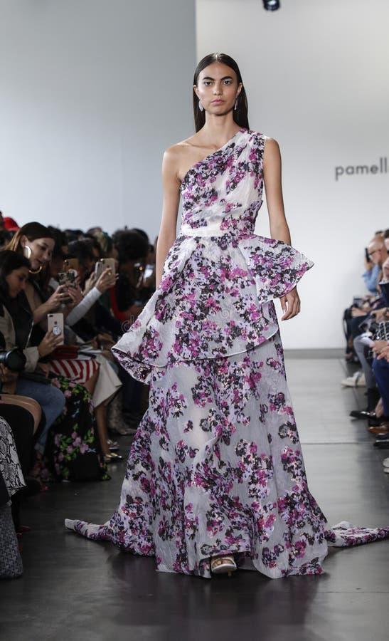Pamella Roland SS 2020 royalty free stock image