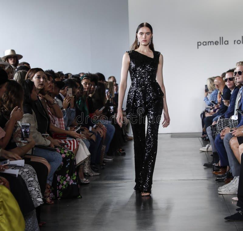 Pamella Roland SS 2020 stock photo