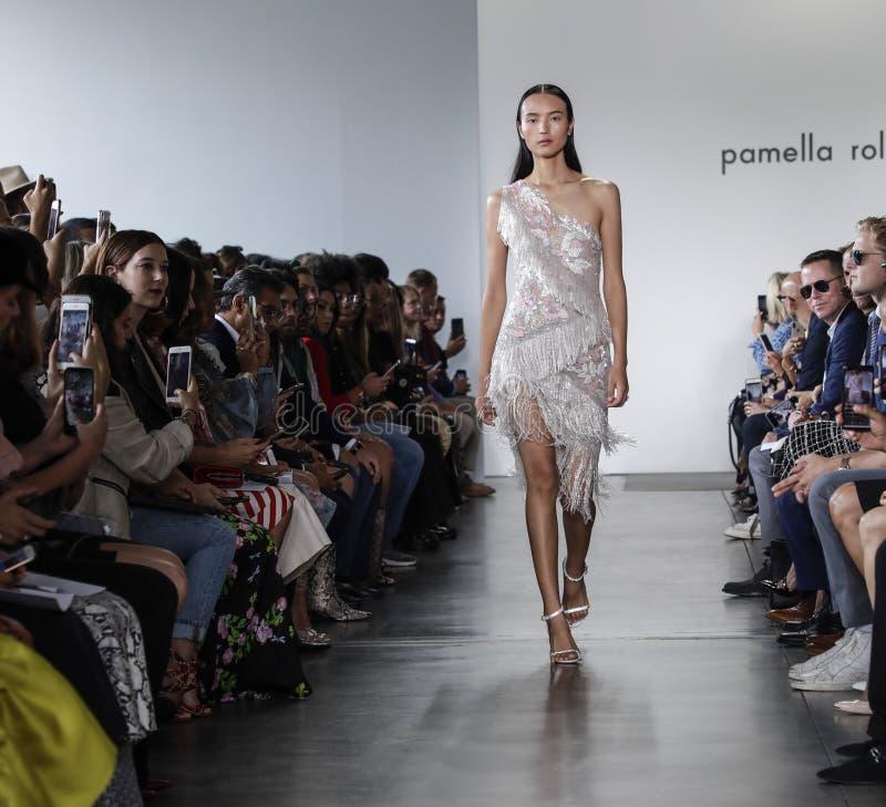 Pamella Roland SS 2020 stock image
