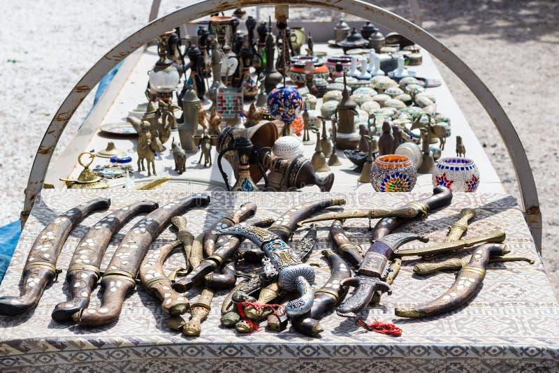 pamiątka na ulicznym rynku w Cappadocia zdjęcie stock