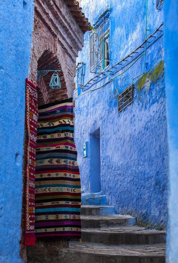 Pamiątka w Medina Chefchaouen, Maroko zdjęcia royalty free