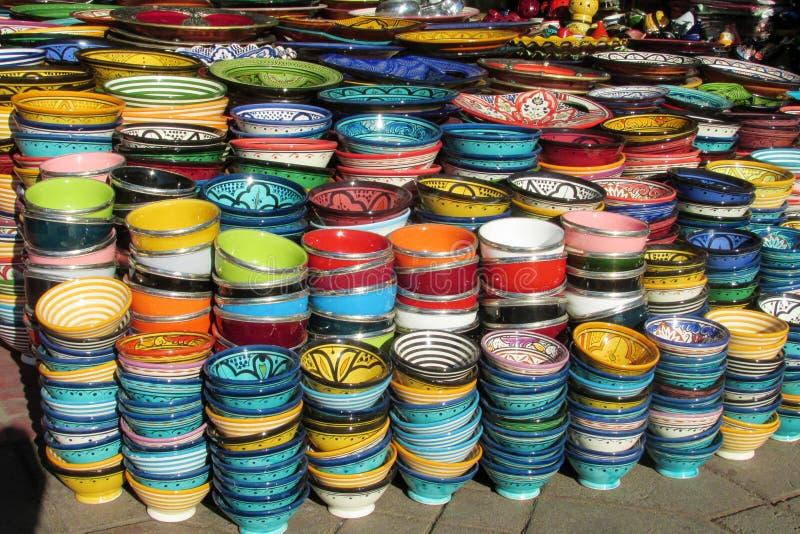 Pamiątkarski kolorowy puchar zdjęcia stock