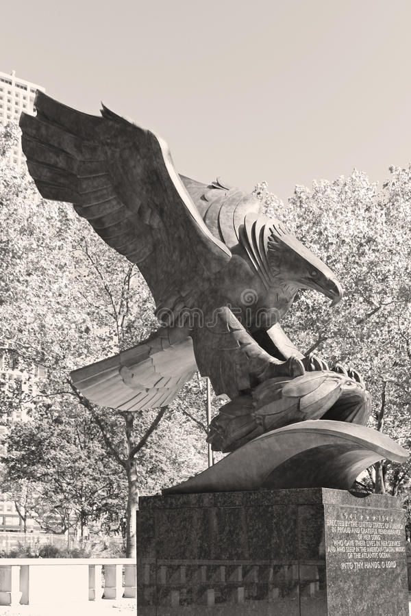 Pamiątkowy Eagle zdjęcie royalty free