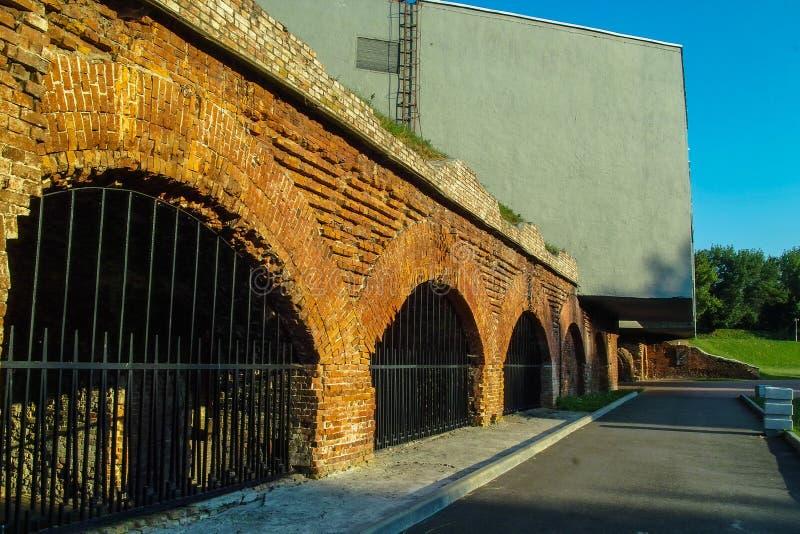 Pamiątkowy kompleks Brest forteca w Białoruś fotografia royalty free