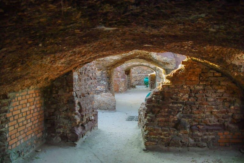 Pamiątkowy kompleks Brest forteca w Białoruś obraz stock