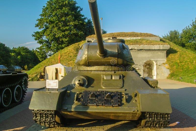 Pamiątkowy kompleks Brest forteca w Białoruś zdjęcia stock