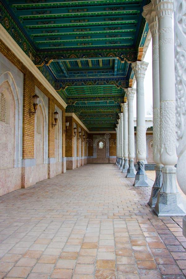 Pamiątkowy Powikłany mauzoleum w Samarkand, Uzbekistan, Jedwabnicza droga zdjęcie royalty free