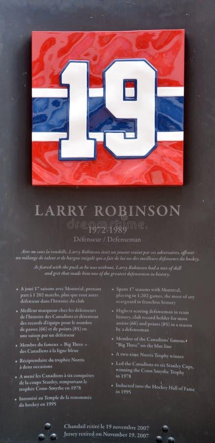 Pamiątkowy talerz 19 Larry Clark Robinson fotografia stock