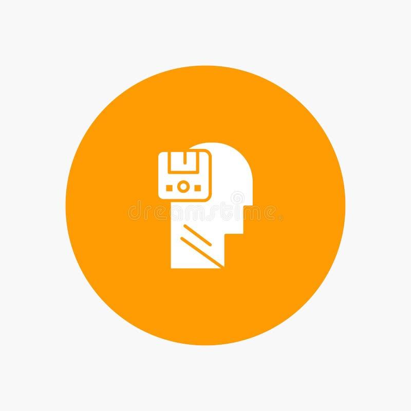 Pamięć, Oprócz, dane, użytkownik, samiec ilustracji