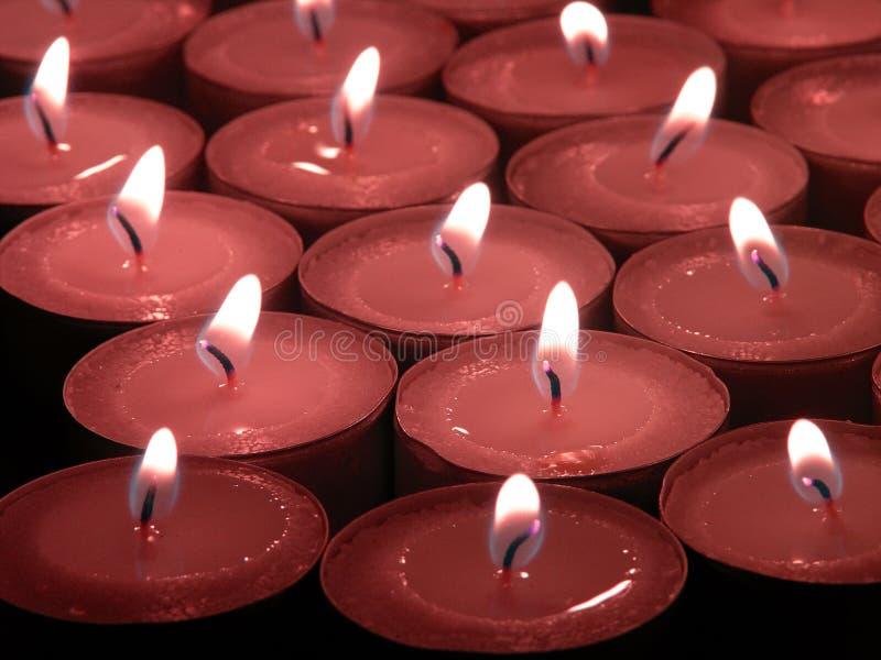 Pamięci świece. Fotografia Royalty Free