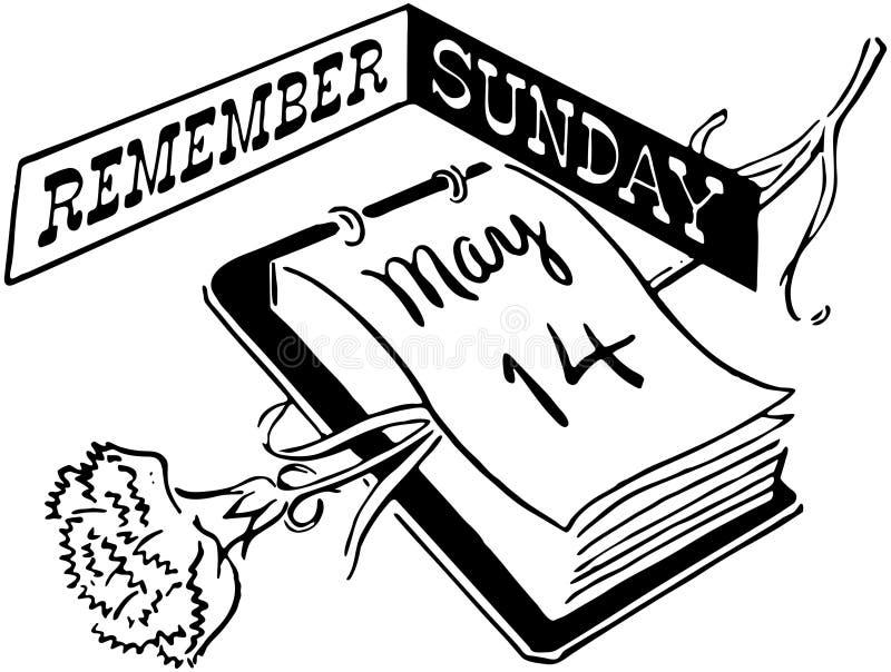 Pamięta Niedziela ilustracji