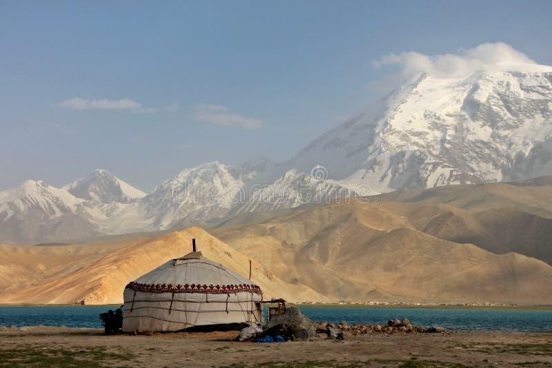 Pamir περιπέτειες ταξιδιού στοκ εικόνες