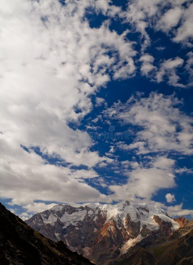 Pamir-Berge stockfotos