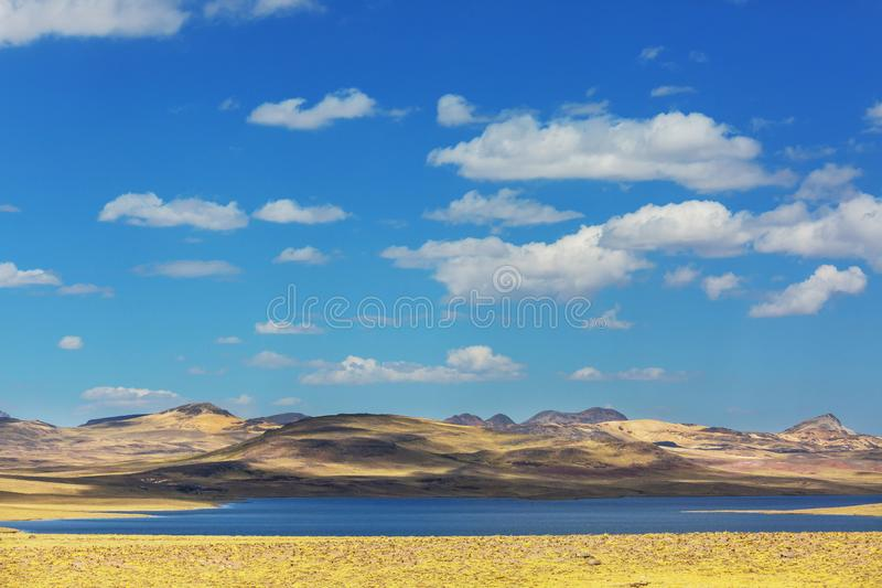 Pampa peruviana immagine stock libera da diritti