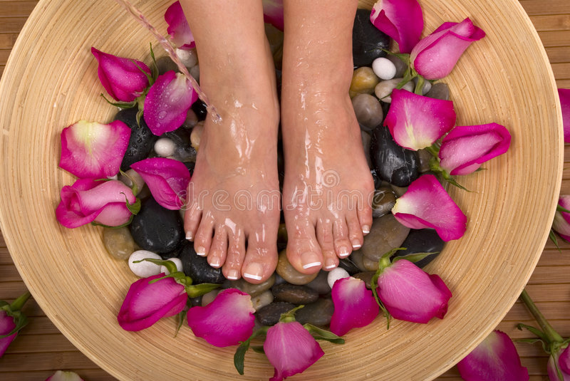 Download Pampered Feet stock image. Image of pedicure, female, pamper - 1957703