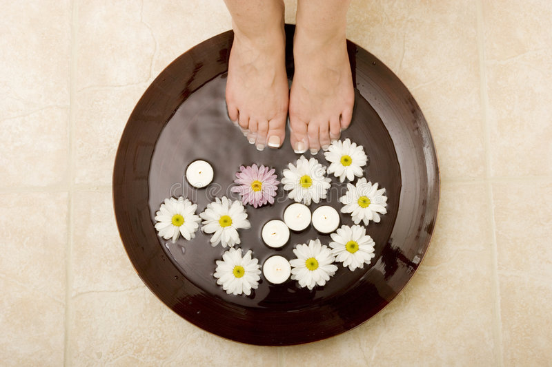 Download Pampered Feet Stock Photos - Image: 2956893