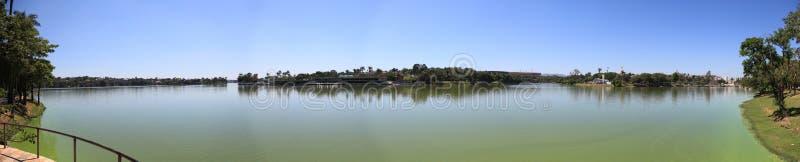 pampulha озера стоковые изображения rf