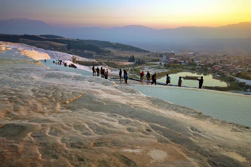 Pamukkale, Τουρκία στοκ εικόνες