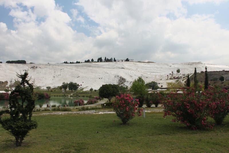 Pamukkale в Турции стоковые фото