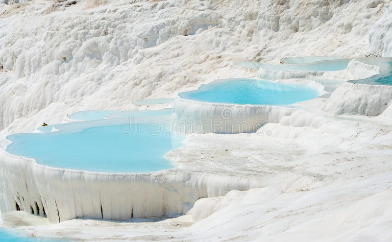 Pamukkale Basins Royalty Free Stock Photography