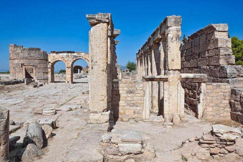 Pamukkale - Hierapolis photographie stock