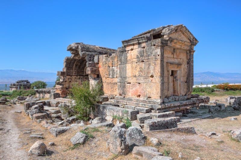 Download Pamukkale - Hierapolis stock photo. Image of ruin, remains - 22733390