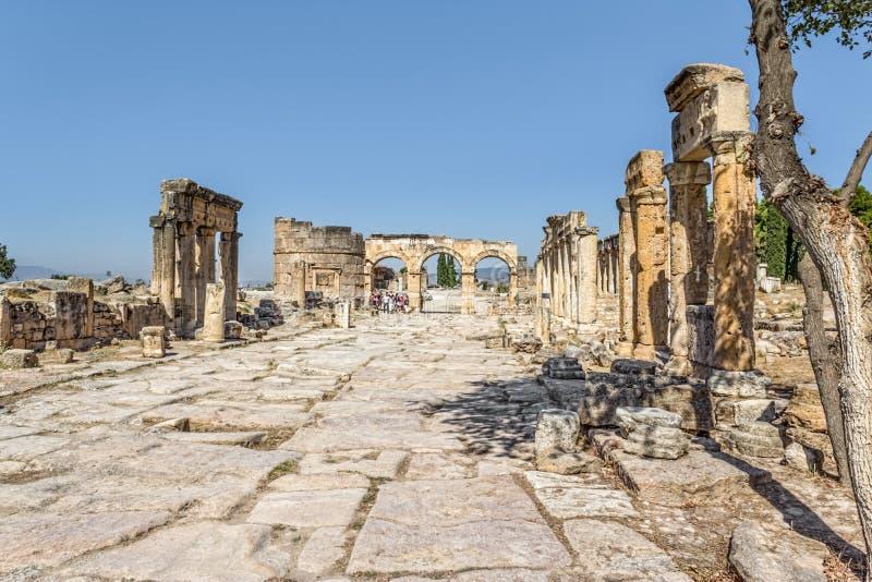 Pamukkale Hierapolis - zdjęcie stock