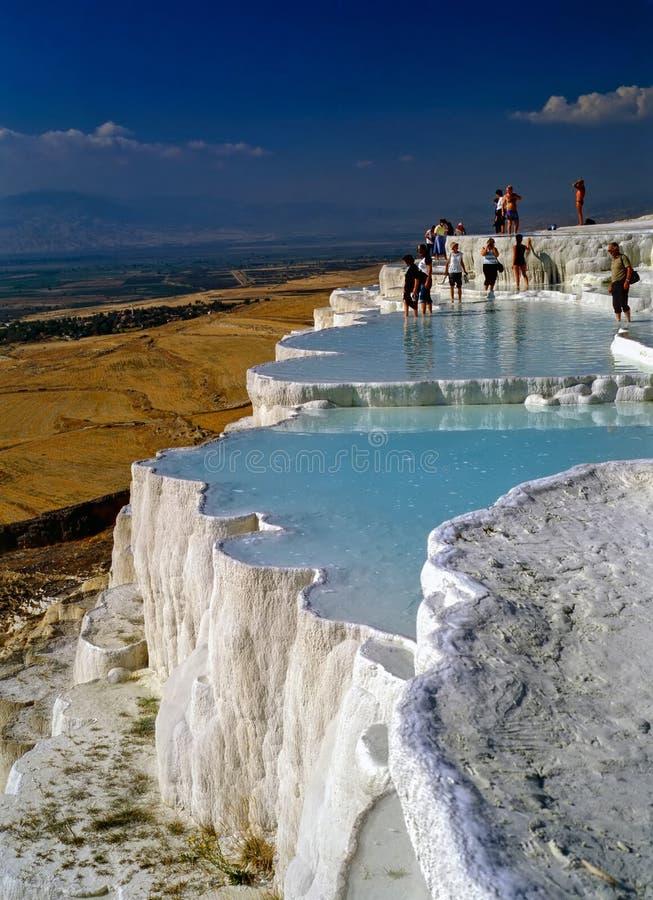 Pamukkale, Turcja zdjęcie royalty free