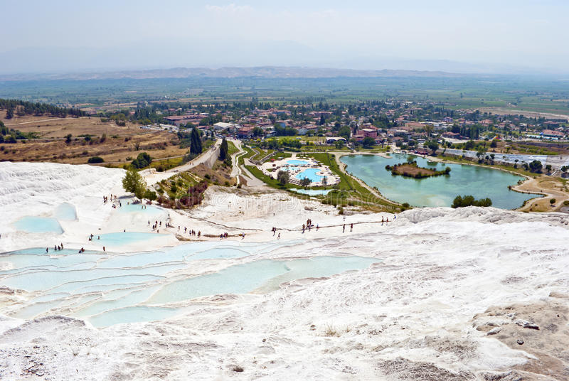 Download Pamukkale, Turkey stock photo. Image of aegean, nature - 28411650