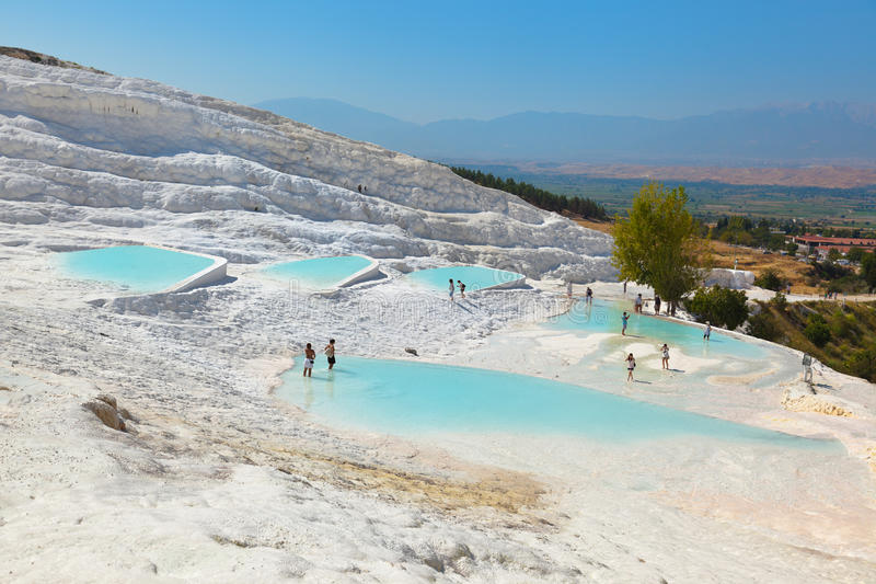 Pamukkale Turquia fotos de stock royalty free