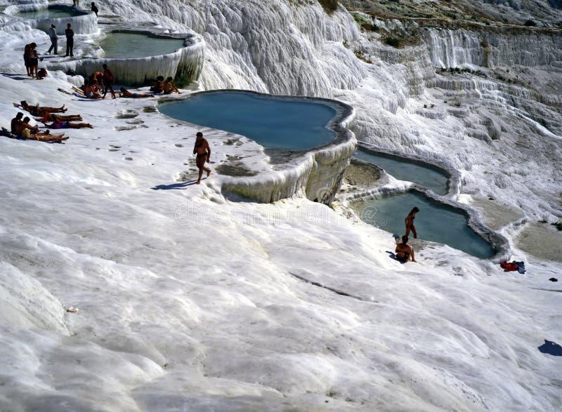 Pamukkale, Turquie photo libre de droits