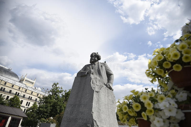 Pamyatnik Karlu Marksu Karl Marx. Karl Marx[6] /mɑːrks/;[7] German: [ˈkaɐ̯l ˈmaɐ̯ks]; 5 May 1818 – 14 March 1883 was a German stock images