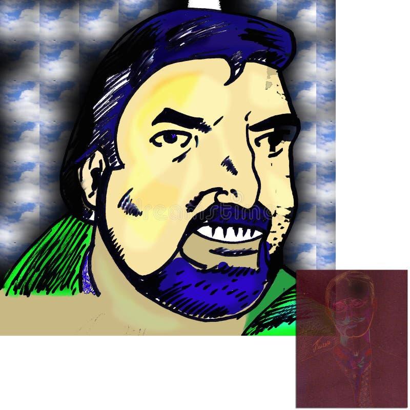 Pança Dragostinov ilustração royalty free