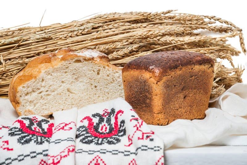 Pan ácimo del trigo y del centeno fotos de archivo