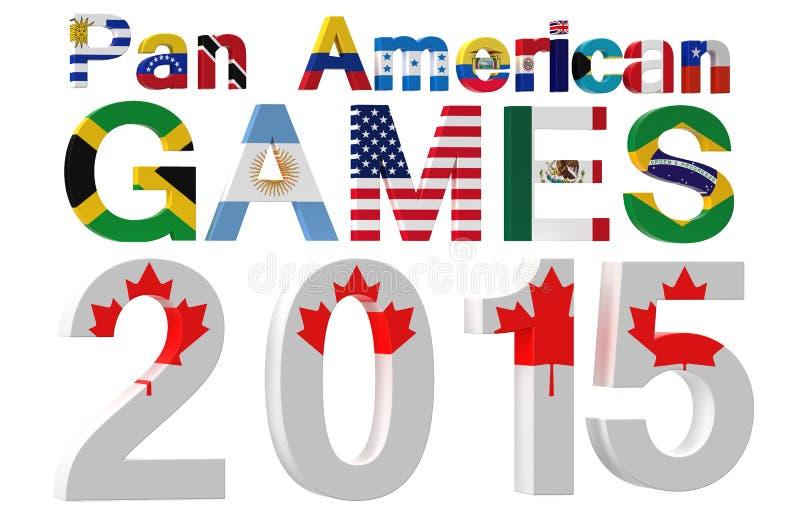 2015 Pan American Games vector illustratie