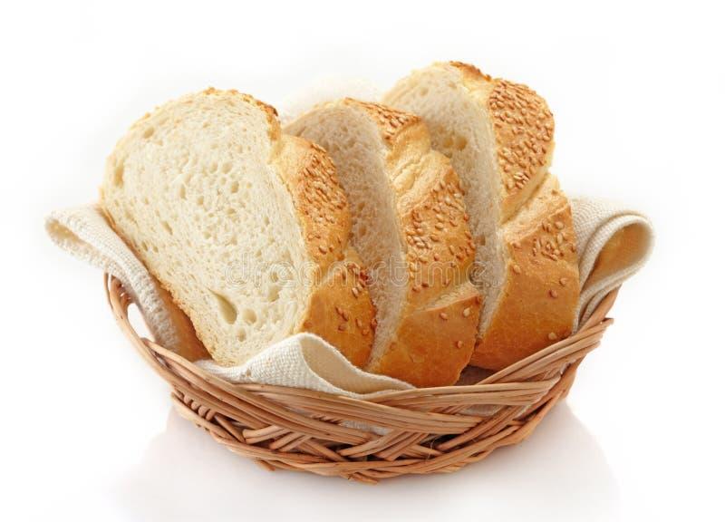 Pan blanco imagen de archivo