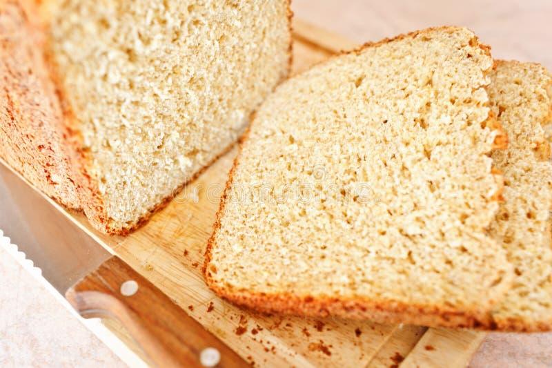 Pan blanco chalado imágenes de archivo libres de regalías