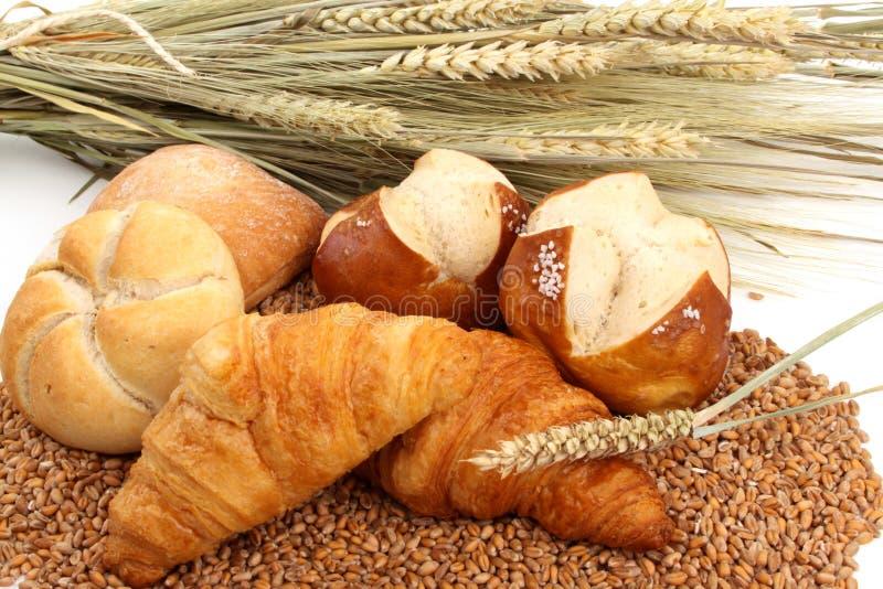 Pan cocido al horno fresco foto de archivo libre de regalías
