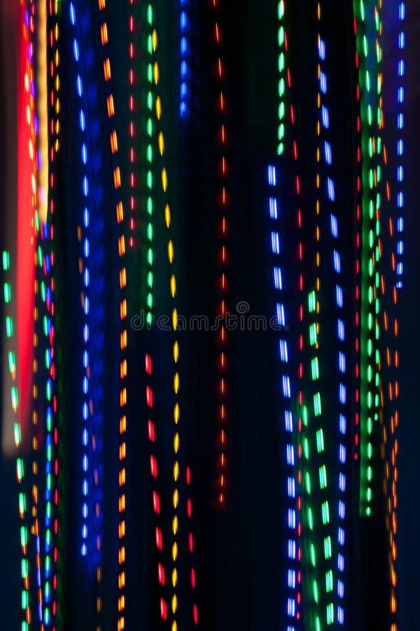 Pan Of Colorful Holiday Lights crée le modèle électrique de pluie image libre de droits